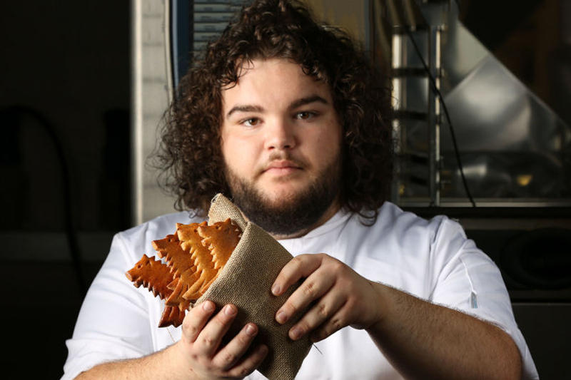 Game of Thrones Hot Pie Bakery You Know Nothing Jon Dough Direwolf Bread