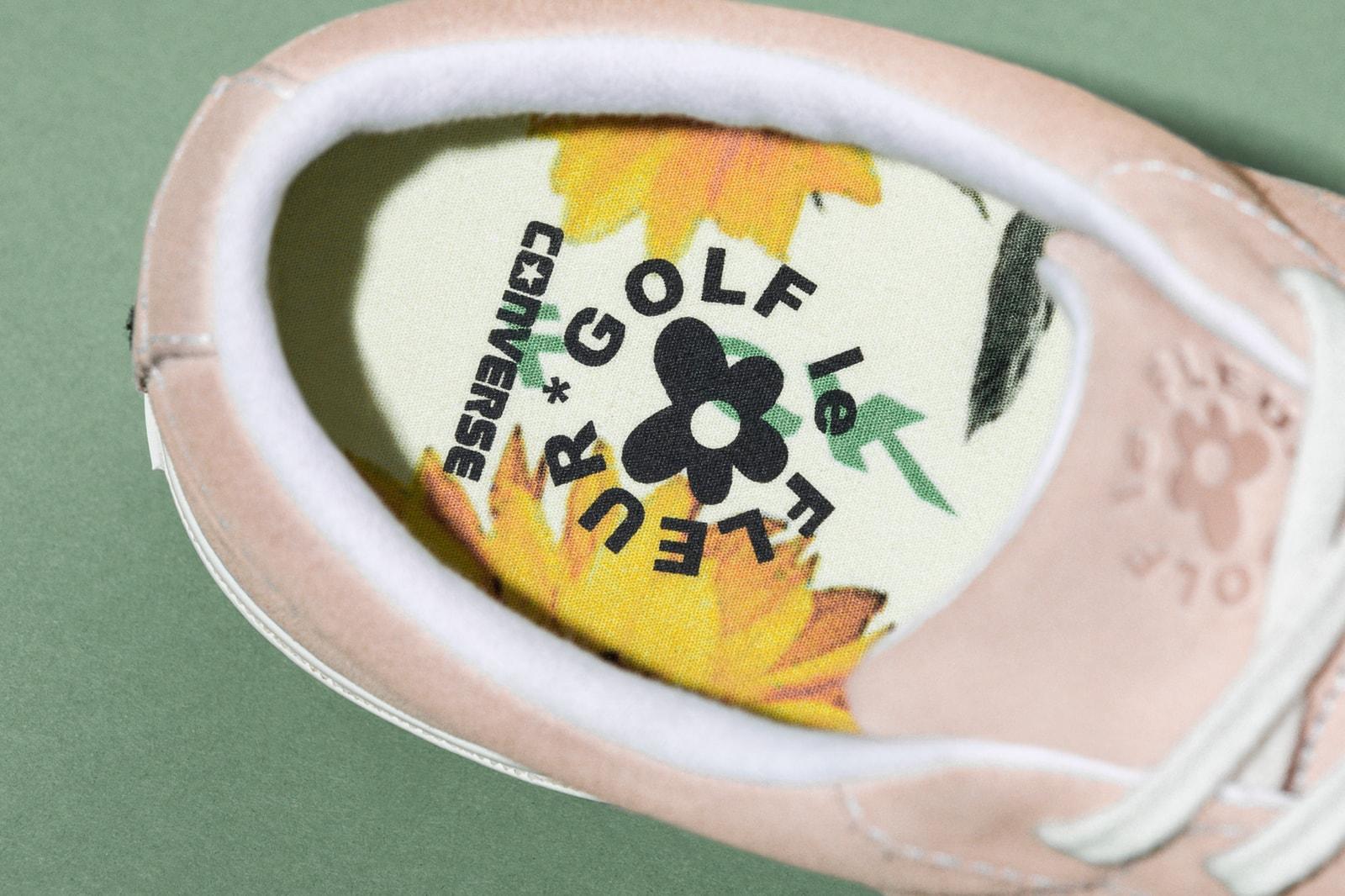 Tyler The Creator Golf Wang Golf le Fleur Converse One Star Release Date Info