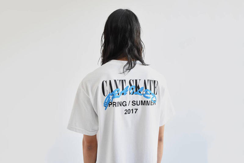 Grailed Cant Skate Seaside Slum Capsule Collection skateboarding t-shirts tees hat