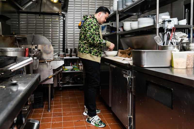 Jimmy Ly Madame Vo Chef Vietnamese Food BAPE Supreme Louis Vuitton New York City Medicom Bearbrick KAWS Companion Air Jordan 11 DMP