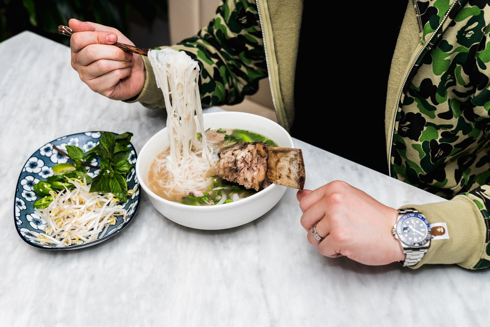 Jimmy Ly Madame Vo Chef Vietnamese Food BAPE Supreme Louis Vuitton New York City Medicom Bearbrick KAWS Companion Air Jordan 11 DMP