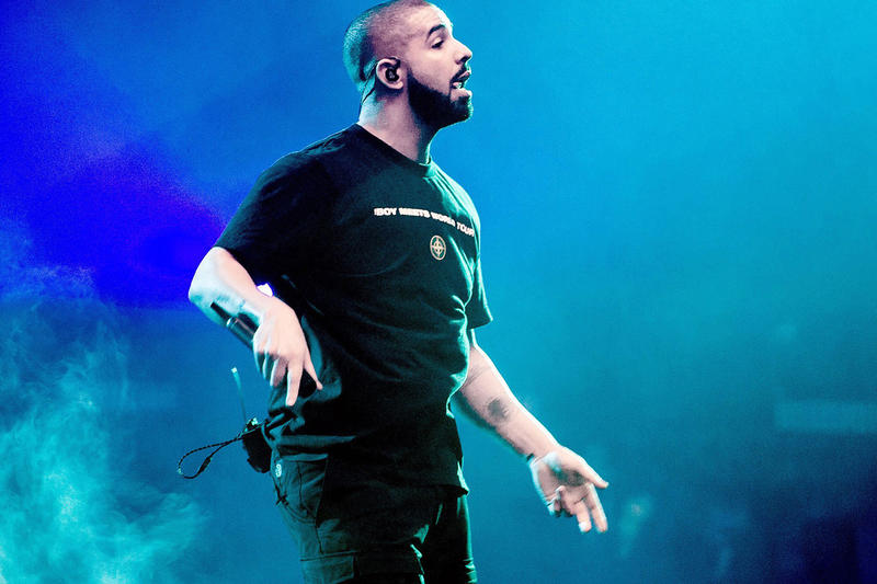 Hip Hop R&B Passes Rock Most Consumed Genre in US drake concert stage performance stone island