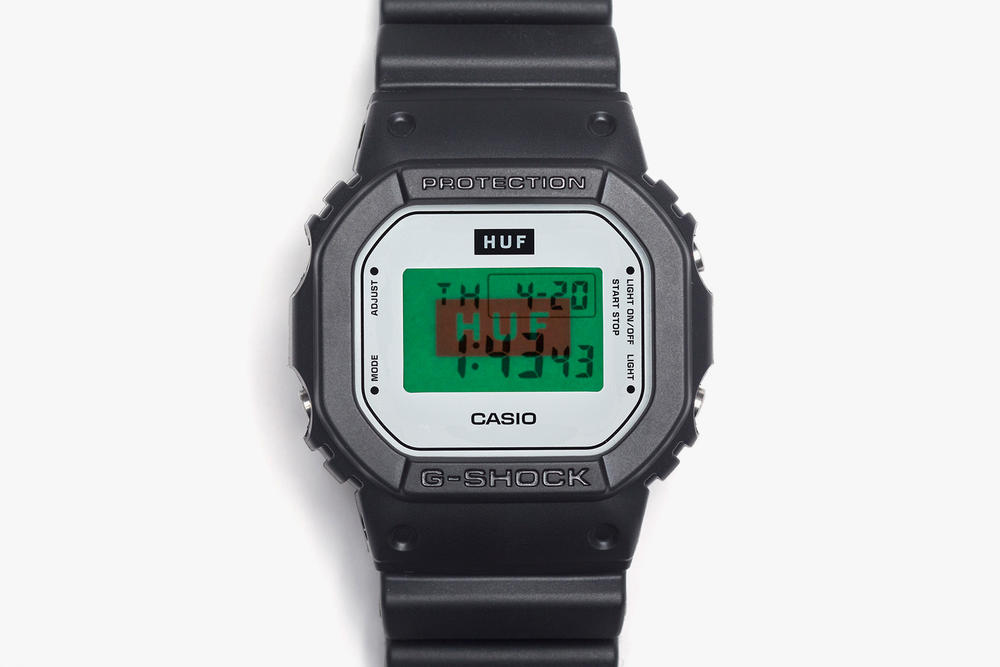 HUF Reunites With G-Shock for 15-Year Anniversary Celebration