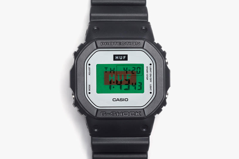 HUF G Shock Collaboration DW5600HUF 1 Watches