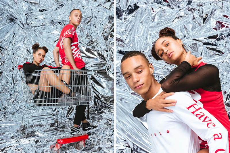 Hype and Coca-Cola's New Capsule Collection