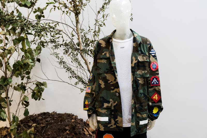 Off White EMPTY GALLERY Store New York City Inside NYC Virgil Abloh