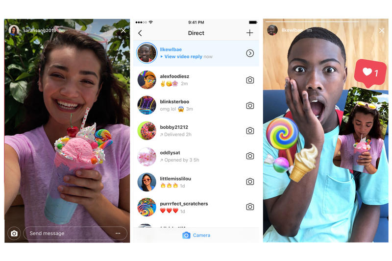 Instagram Stories Photo Video Replies Update