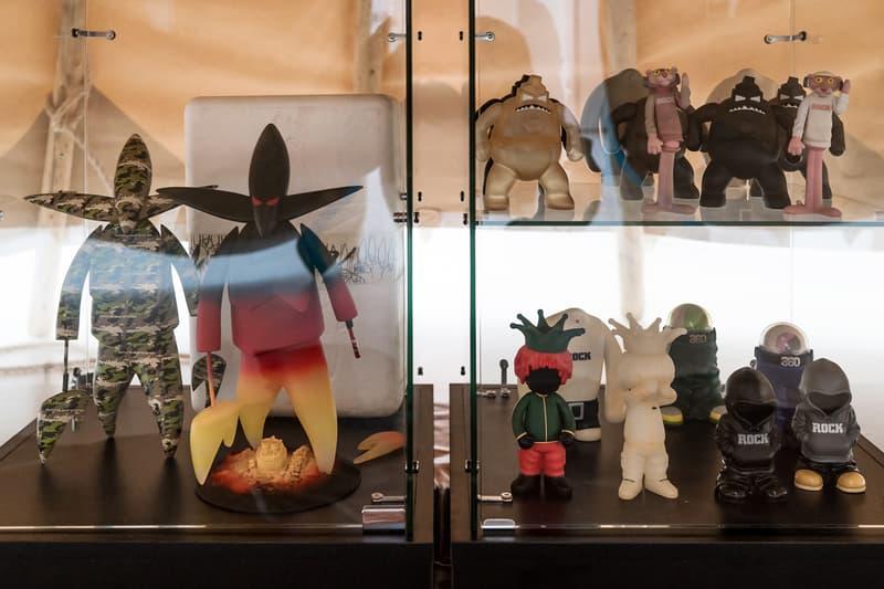 Jakuan Melendez Exhibit Sculptures Artwork Vinyl Toys Collectibles Figures BAPE Supreme Bounty Hunter Futura KAWS Companion