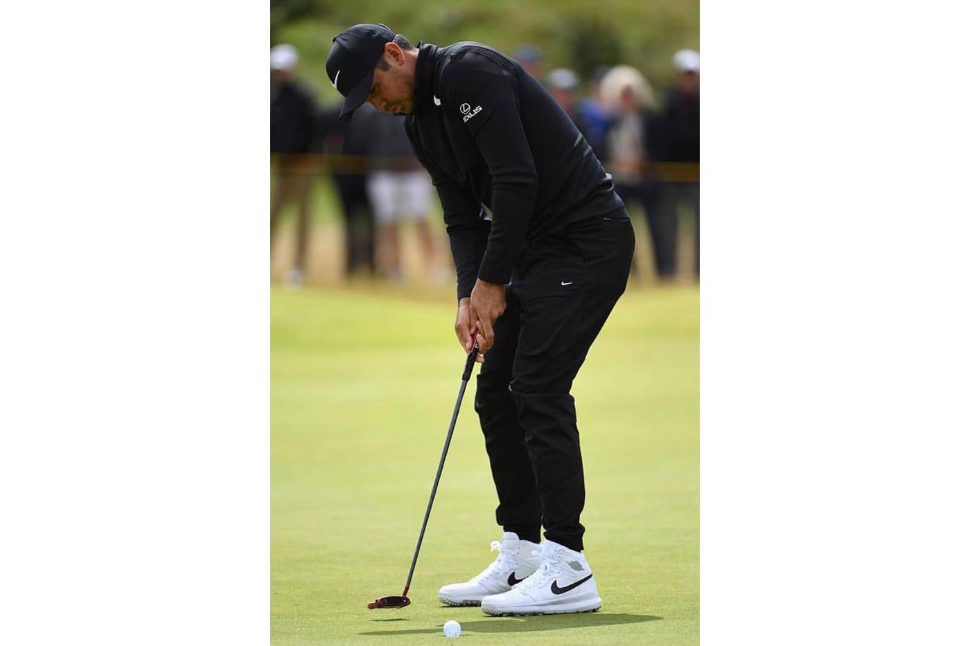 Jason Day Wears Air Jordan 1 at Golf