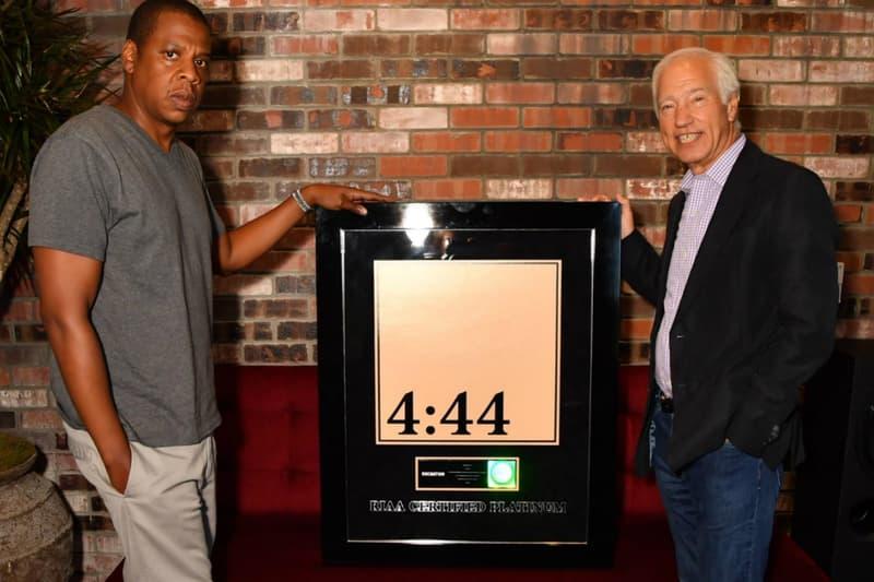 JAY-Z 4:44 Platinum RIAA Cary Sherman