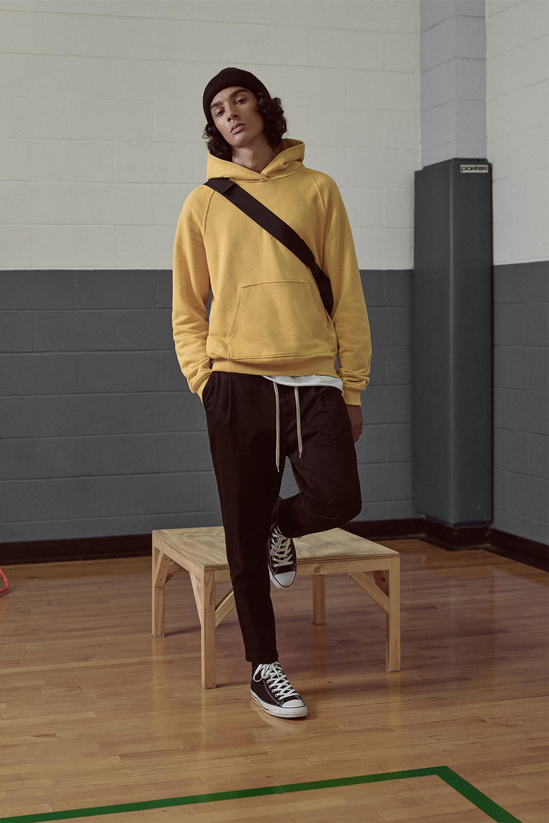 John Elliott 2017 Fall Winter Collection Lookbook Stretch The Floor 10th Anniversary Season Patrick Maus sportswear high school sports