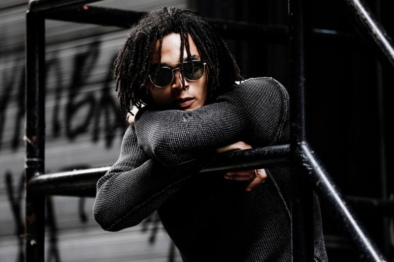 John Varvatos Eyewear 2017 Fall Lookbook The Windsor black