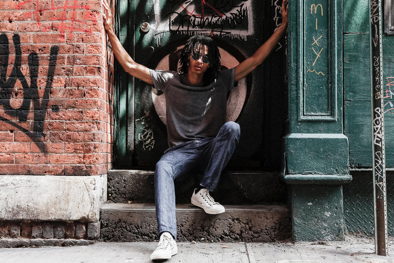 John Varvatos Eyewear 2017 Fall Lookbook The Windsor on stoop