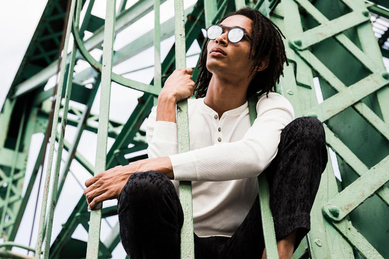 John Varvatos Eyewear 2017 Fall Lookbook The Stardust sitting