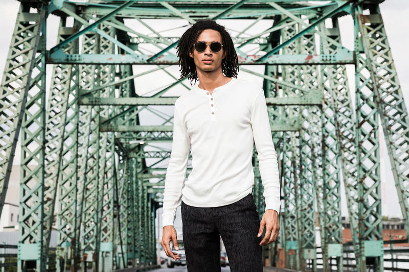 John Varvatos Eyewear 2017 Fall Lookbook The Stardust middle of bridge