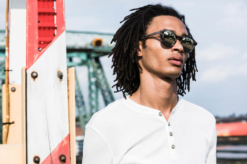 John Varvatos Eyewear 2017 Fall Lookbook The Stardust on bridge
