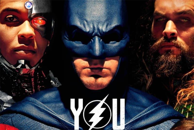 Justice League Poster Batman Aquaman Cyborg The Flash Wonder Woman