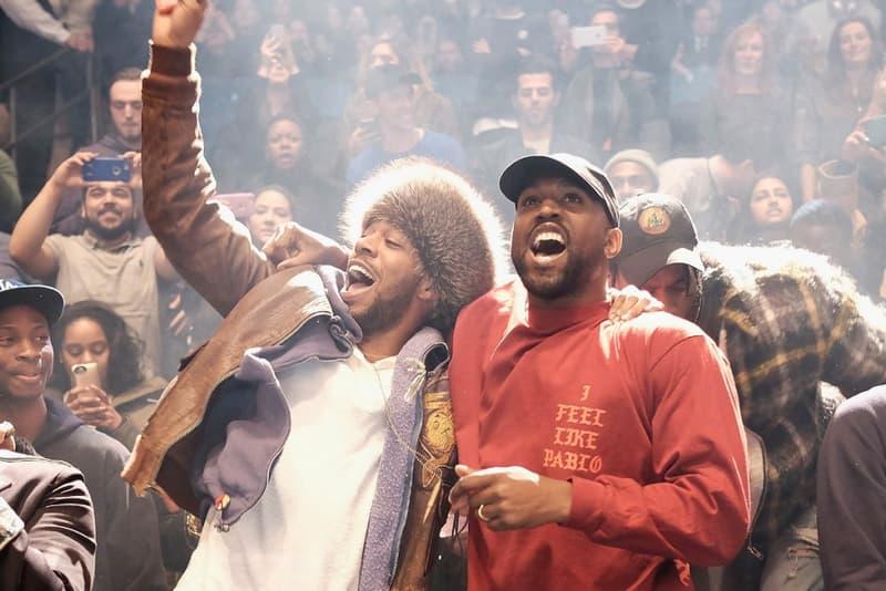 Kanye West, Kid Cudi & Plain Pat Studio LA