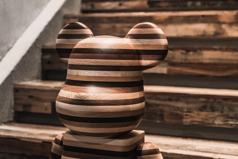 Karimoku Medicom Toy 1000 Horizon Wood Bearbrick be@rbrick sold 58 pounds