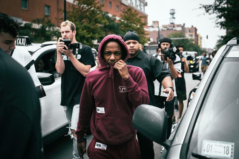 Kendrick Lamar DAMN. Pop-Up Event at Notre