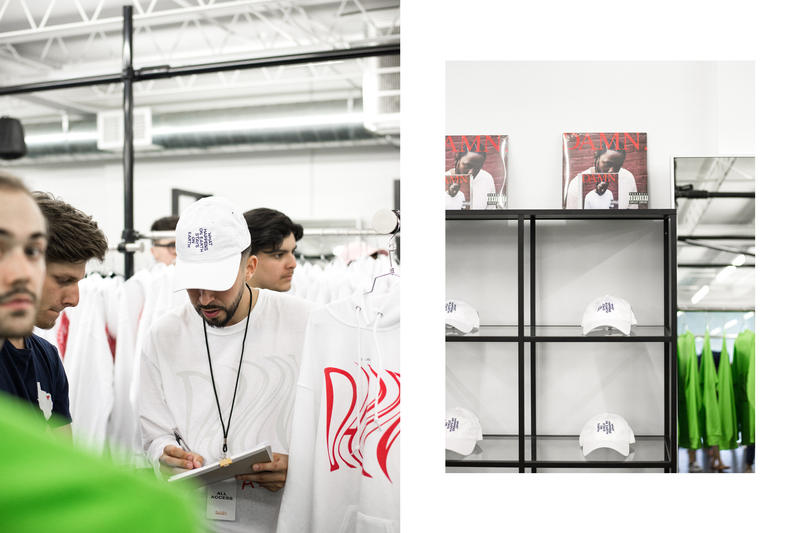 Kendrick Lamar DAMN. Pop-Up Shop