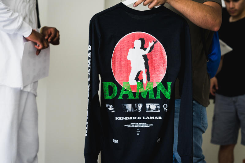 Kendrick Lamar's 'DAMN.' Pop-Up Event In New York City