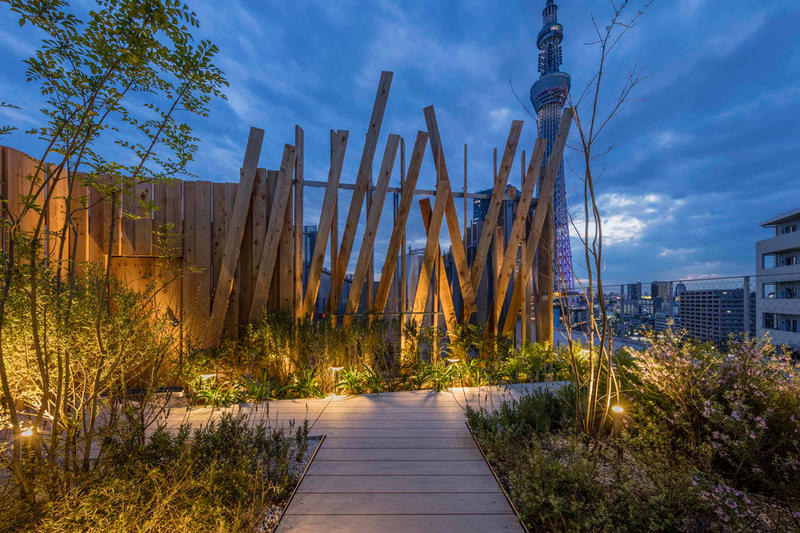 ONE tokyo Hotel Kengo Kuma Architecture Design Skytree Observation Tower