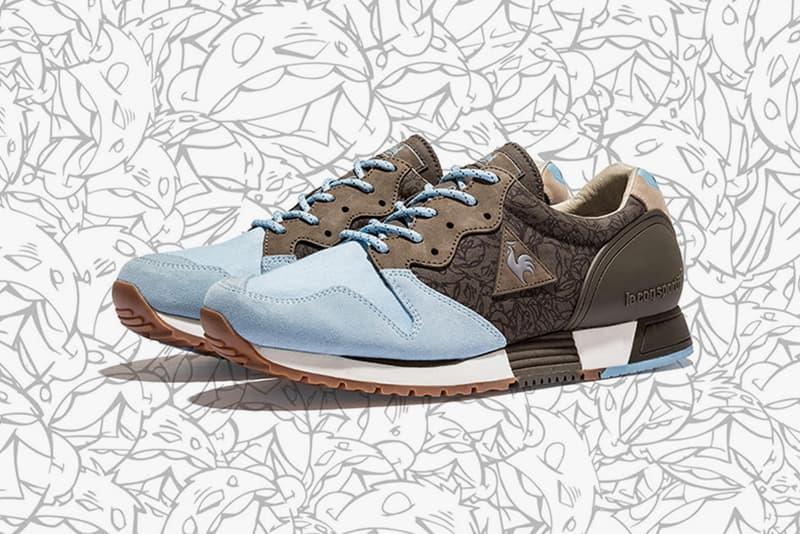 """KICKS LAB Steven Harrington Dez Einswell Le Coq Sportif""""Road Trippin Pack Eureka OG LCS R 1000 Sneakers Shoes Footwear 2017 July Release Date Info"""