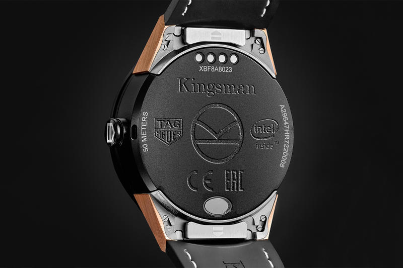 Kingsman 2 The Golden Circle TAG Heuer Connected Smartwatch Movie 2017 MR PORTER