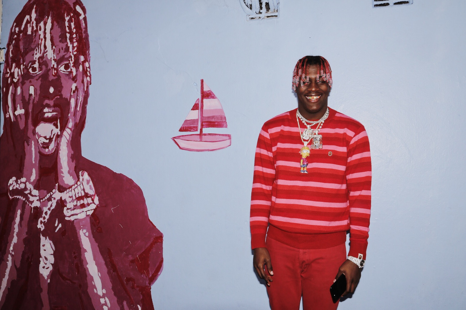 Lil Yachty Interview Favorite Freshman Bart Simpson Chain Ugly God