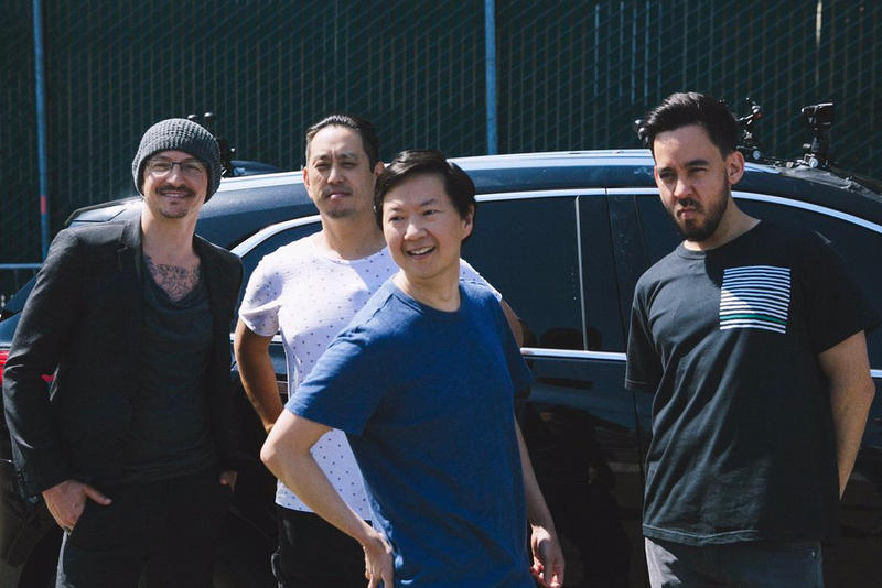 Linkin Park 'Carpool Karaoke' Chester Bennington