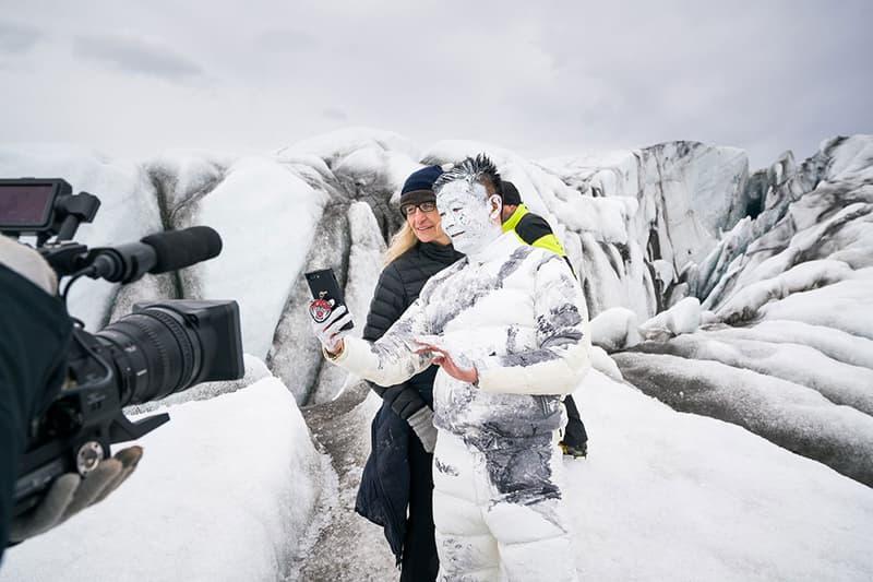 Moncler 2017 Fall Winter Annie Leibovitz Liu Bolin
