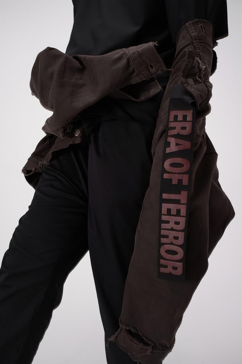 Luke Vicious 2017 ERA Collection Lookbook Terror