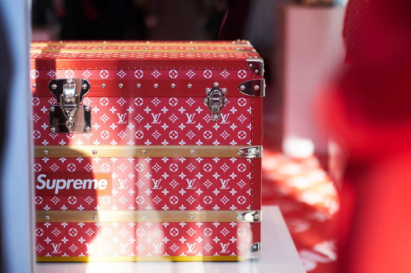 LVMH 2017 Sales Increase up Louis Vuitton Supreme Collaboration Collection Release