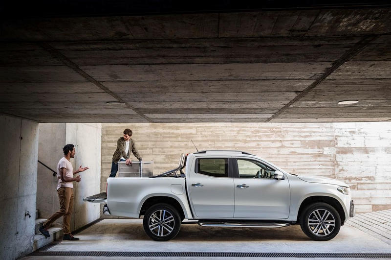 Mercedes Benz X Class Pickup Truck Unveiling Premiere First Ever