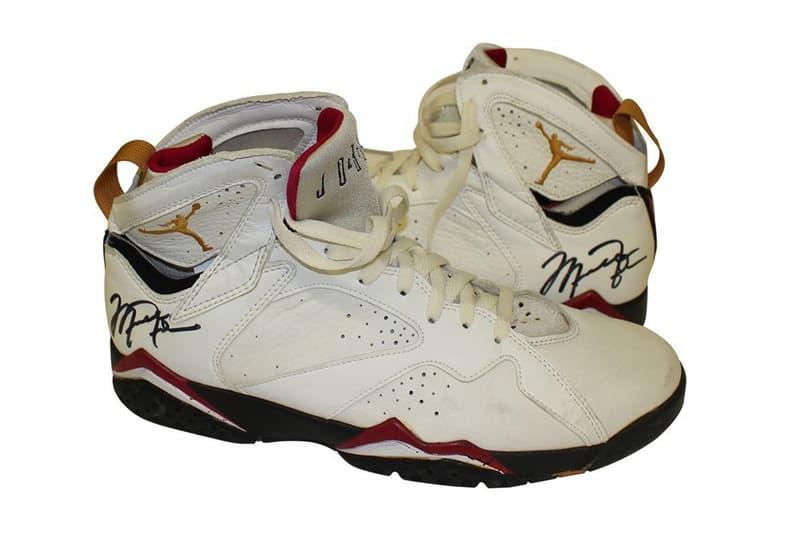 Michael Jordan Game Worn Air Jordan 7