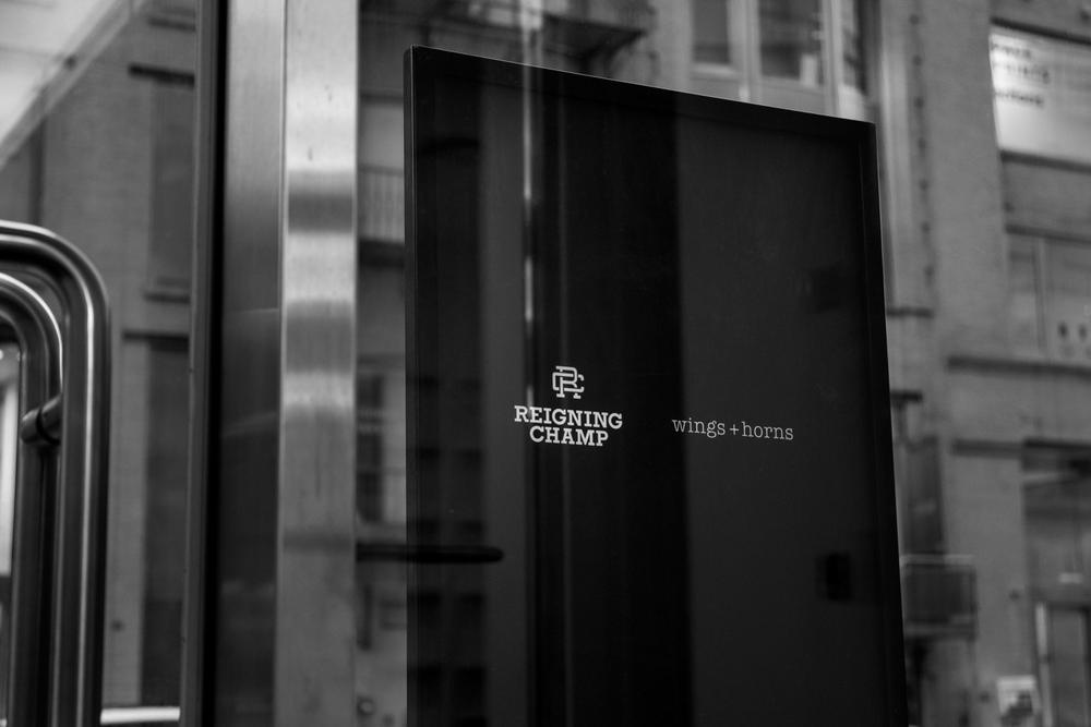 Michael Murphy Reigning Champ NYC Installation