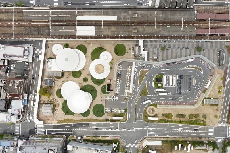Nendo CoFuFun Station Plaza Tenri Station Japan Design Architecture Urban Structures