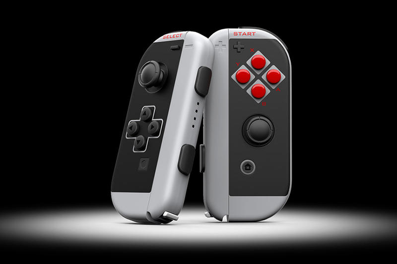 Nintendo Switch NES-Inspired Controllers