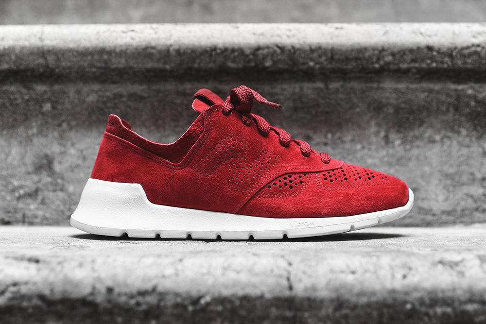 New Balance 1978 Bone Black Red Colorways Scales Suede Vibram Sneakers Shoes Footwear 2017 July Release KITH
