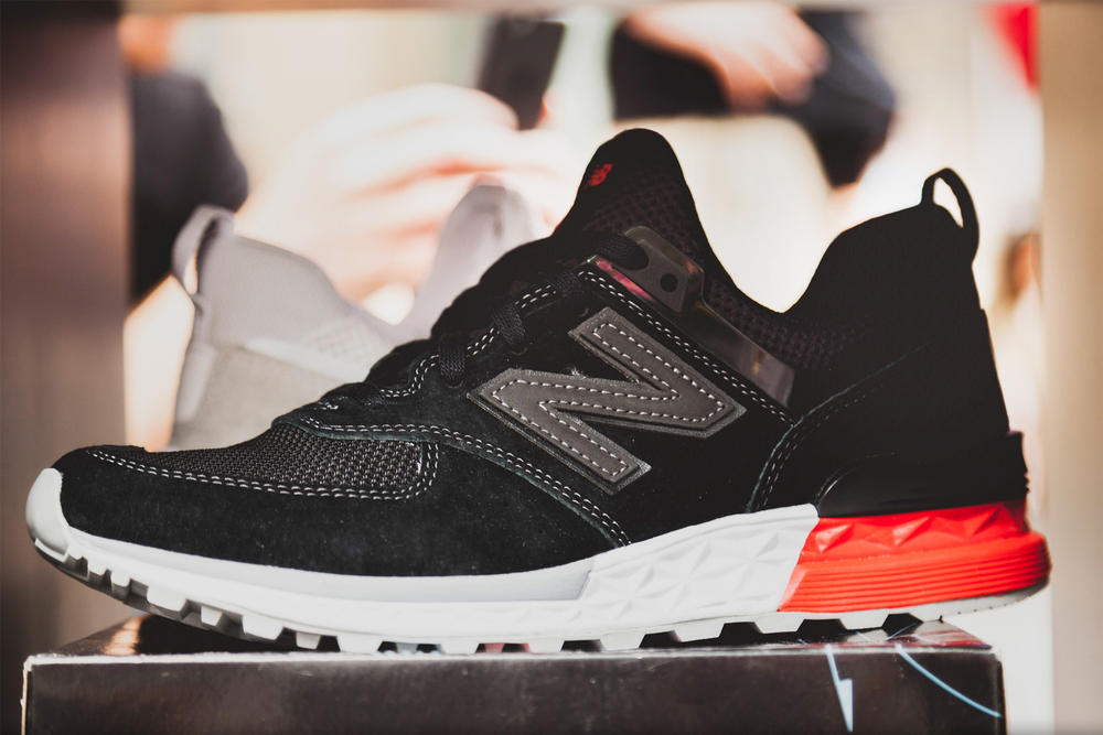 wholesale dealer 2d0e1 98b58 ... Women 3499 Factory  New Balance 574 Sport Model Footwear Sneakers Shoes  Lifestyle Runner coffee carts nyc new york city ...