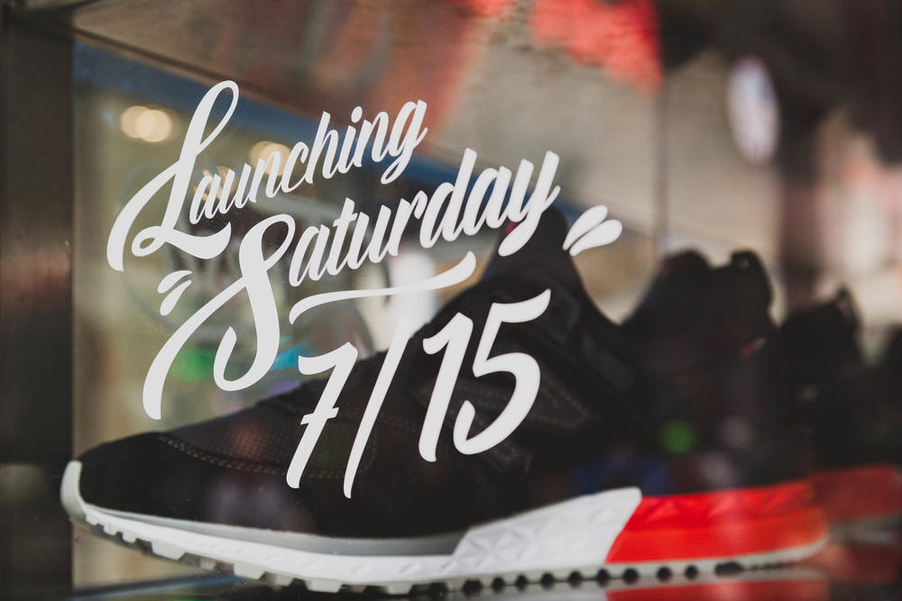 New Balance 574 Sport Model Footwear Sneakers Shoes Lifestyle Runner coffee carts nyc new york city