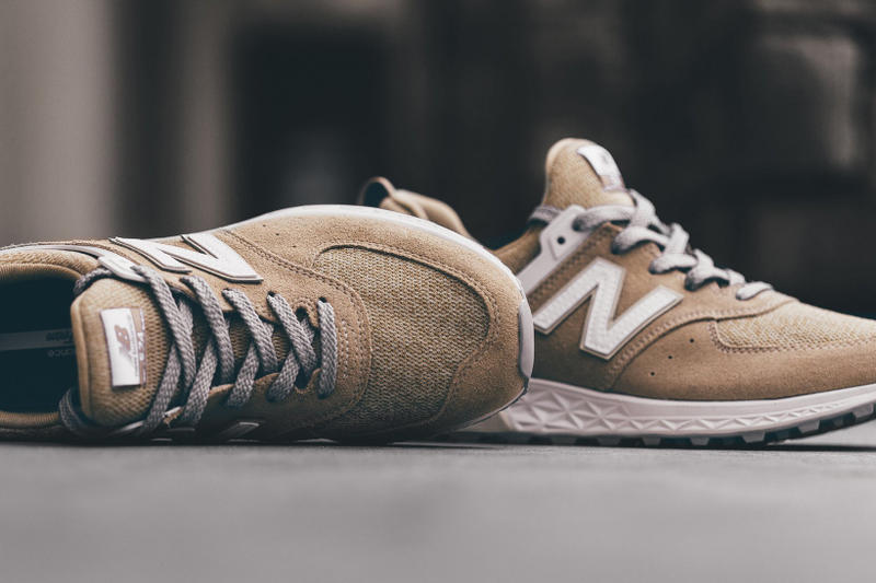 New Balance 574 Sport Tan Brown White Sneakers Shoes Footwear 2017 July 31 Monday Release Date Info Feature