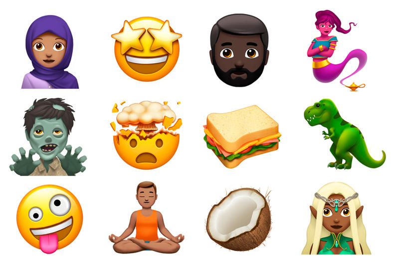 New Emoji iOS macOS Apple 2017