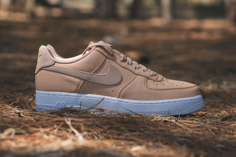 newest 0b80a 4a87f Nike Air Force 1 07 Low Premium Vachetta Tan Leather Sneakers Shoes  Footwear July 2017 Summer
