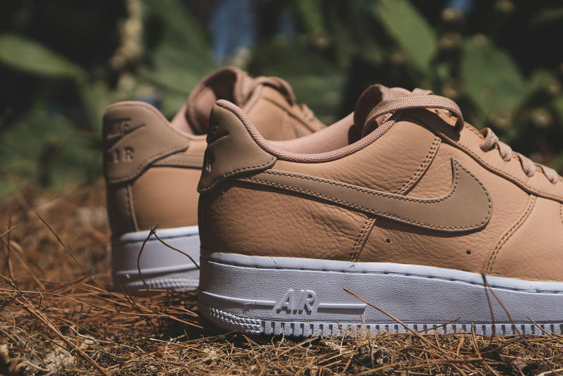 newest 7ef48 d3653 Nike Air Force 1 07 Low Premium Vachetta Tan Leather Sneakers Shoes  Footwear July 2017 Summer