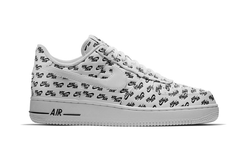 Nike Air Force 1 All Over Print Pack red