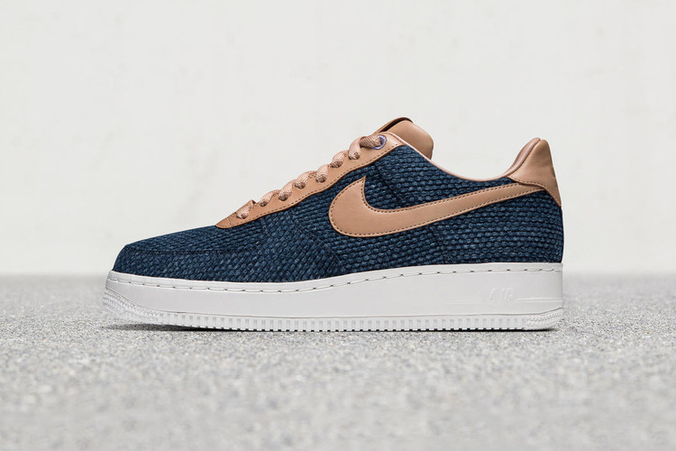 pretty nice 654db 52b54 The Nike Air Force 1 Low Gets Dressed in Rich Japanese Indigo