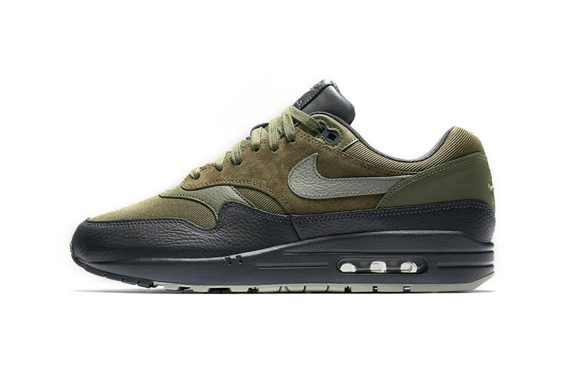 Nike Air Max 1 Premium Dark Stucco Colorway Footwear Shoes Sneakers