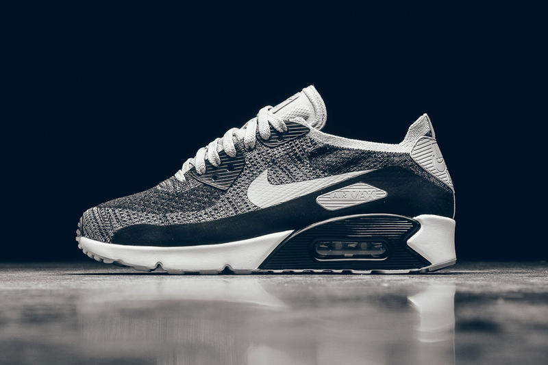 huge selection of 0dd83 90722 Nike Air Max 90 Ultra 2.0 Flyknit Black & White | HYPEBEAST